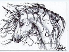 Unicorn's Portrait (Unknown Artist)