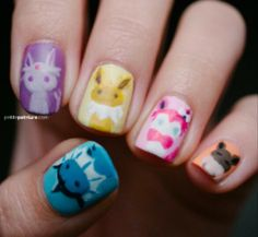 Eeveelution Nails | Eevee Everything
