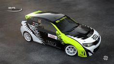 Mrlik Racing - C.Mrlik - J.Baier (Subaru Impreza STi) - design and wrap for Rally Liezen 2014.