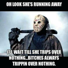 Funny Memes - View our collection of the web's funniest memes - submitted by users. Our list has the All-Time Greats and the funniest memes generated just today. Scary Movie Memes, Scary Movies, Horror Movies, Funny Memes, Funny Quotes, Fb Memes, Motivational Quotes, Friday The 13th Funny, Explain A Film Plot Badly