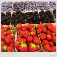 Summer berries, Antibes, South of France