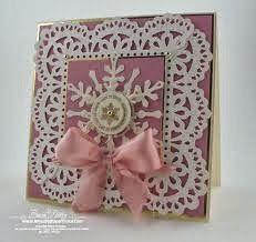 Beautiful snowflake card