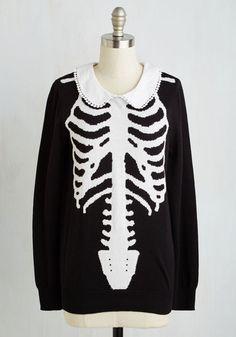 X-Ray Visionary Top | Mod Retro Vintage Sweaters | ModCloth.com