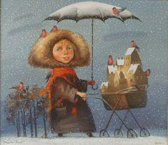 The First Snow - Vladimir Golub