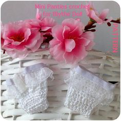 Mini Panties crochet pattern for Blythe doll
