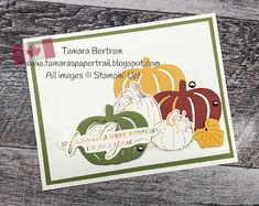 Pretty Pumpkin Friendship - Stampin' Creative Blog Hop