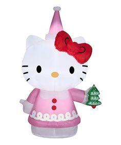 Look at this #zulilyfind! Hello Kitty Cookie Airblown Inflatable Lawn Décor #zulilyfinds