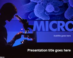 Free Microbiology PowerPoint Template | Free Powerpoint Templates