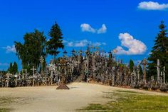 Early days Hill of Crosses in Lithuania is a place with very strong story. First crosses appeared here after the unsuccessful 1831 Uprising. The Lithuanians rebelled against Russian authorities since they were not keen of being  part of the Russian Empire. Many rebels were killed and their families had no information where they were buried. …