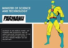 Parman-is-Science