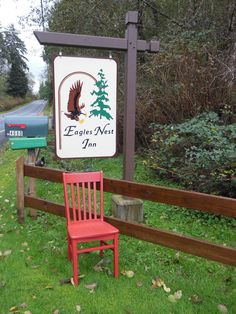 Eagles Nest Inn Langley, Washington November 7-13th, 2015