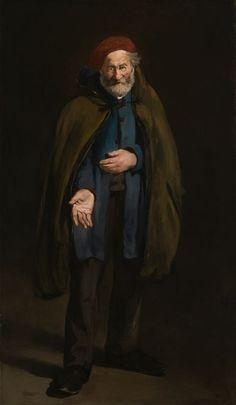 Édouard Manet - Le Philosophe: Mendiant avec un Dufflecoat