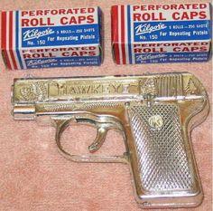 Back when kids didn't get shot for having a play gun!