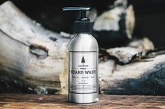 This is the end of mushy piles of soap scum, wasted money, and dropped bars. Say hello to Lone Woods Natural Beard Wash - a gentle, moisturizing soap that is ha Beard Soap, Beard Shampoo, Beard Supplies, Beard Wash, Soap Scum, Men's Grooming, Moustache, Soap Dispenser, Moisturizer