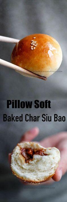 Pillow soft baked char siu bao