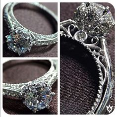 Veraggio Engagement Rings and Wedding Bands---So, this is it. This is the one. Absolutely beautiful.