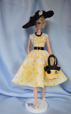 Silkstone Barbie Fashion  Sunny Days by ShhDollWorks on Etsy - Sold