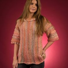 - Tyk sweater i Mayflower Easy Knit Opskrifter Mayflower Thick Sweaters, Circular Needles, May Flowers, Knit Or Crochet, Opals, Knit Patterns, Free Knitting, Mittens, Crochet Projects