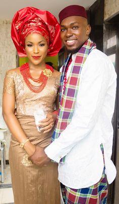10 Beautiful African Traditional Wedding Attires - Culture (1) - Nigeria