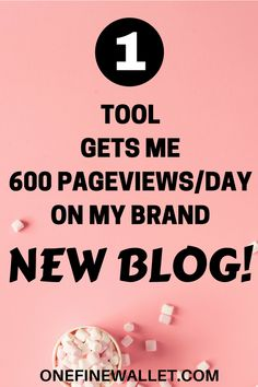 How this one blog tool increase pageviews and traffic to my blog while I still was on the free trial! #pinteresttips #blogtips #blogtraffic #increasepageviews #tailwind