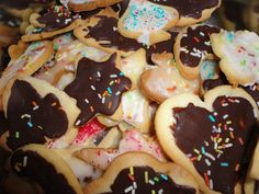 Mürbteigkekse Cookies, Desserts, Food, Food Food, Backen, Biscuits, Meal, Deserts, Essen
