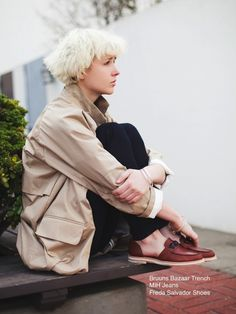 La Boutique l'Art et la Mode SPRING  Lookbook | FREDA SALVADOR see shoes, MIH jeans, FIRMA BERLIN blouse, BRUUNS BAZAAR jacket | STYLIST: Colton Dixon Winger | PHOTOGRAPHER: Joseph Tyler Newell | MODEL: Shay Howell