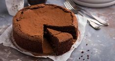 Dark & Smoky Almost-Flourless Chocolate Cake with Cholula® Hot Sauce Healthy Chocolate Desserts, Flourless Chocolate Cakes, Desserts To Make, Chocolate Recipes, Chocolate Lovers, Cake Recipes, Dessert Recipes, Unsweetened Chocolate, Food Cakes