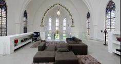 Herbestemmingswoningen woonkerk living