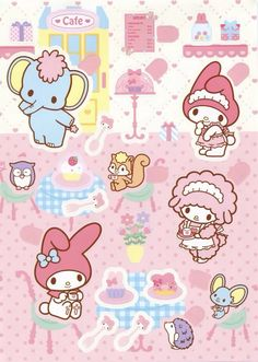 My Melody stickers Ⓣ♡Ⓣ