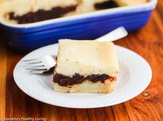 Mom's Baked Coconut Sticky Rice Red Bean Paste Cake for Chinese New Year - Jeanette's Healthy Living
