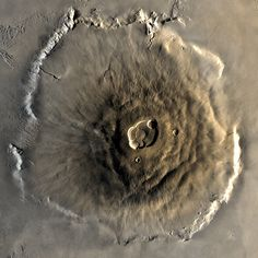 Olympus Mons – Mars' Volcano