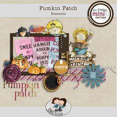 Oscraps.com :: Shop by Category :: All New :: SoMa Design: Pumpkin Patch - Kit