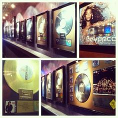 #fullsail grads and instructors help make our walls glimmer gold and silver! #beyonce #michaeljackson