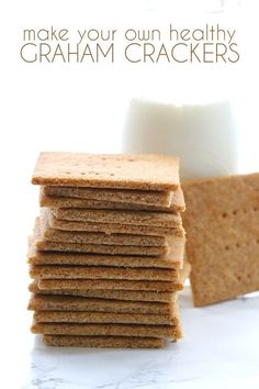 Homemade low carb Graham Crackers get a much-needed update! These healthy, grain-free crackers are the ultimate kid snack, but adults love them too. Sometimes an older recipe deservesto be revisi…