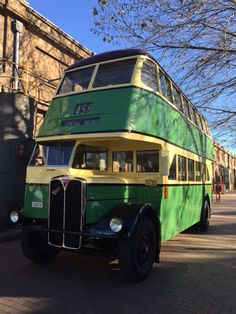 This vintage 1949 bus is sitting on our doorstep today at ATP Conference Centre. Who has ever ridden in one of these?