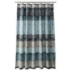 Threshold™ Scallop Dot Shower Curtain