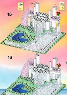Thousands of complete step-by-step printable older LEGO® instructions for free. Here you can find step by step instructions for most LEGO® sets. Lego Instructions, Step By Step Instructions, Lego Sets, Lego Games