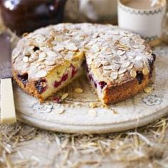 Best : Raspberry Bakewell Cake This simple almond cake is perfect for ., New Best : Raspberry Bakewell Cake This simple almond cake is perfect for ., New Best : Raspberry Bakewell Cake This simple almond cake is perfect for . Bbc Good Food Recipes, Sweet Recipes, Baking Recipes, Cake Recipes, Dessert Recipes, Yummy Food, Healthy Food, Kolaci I Torte, Raspberry Recipes