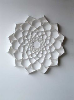 Paper artworks by lisa rodden this looks like a chrysanthemum to me paper sculpture flower image mightylinksfo