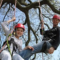 Goodleaf - tree climbing experiences for anyone aged 8-80! goodleaf.co.uk