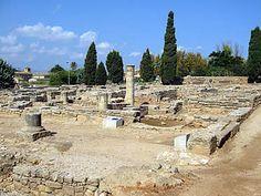 Restos de la ciudad romana de Pollentia