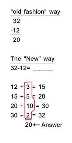 Common Core Addition weirdness... but actually, thats how I tend to do math in my head-- strange!