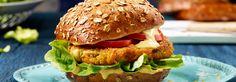 Rezept Kichererbsenburger mit THOMY Burgersauce