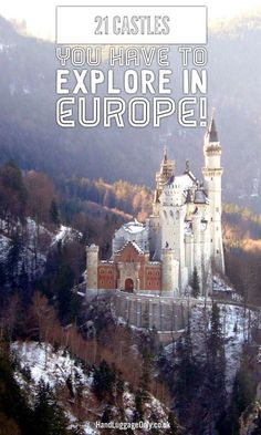 21 Castles You Have To Visit In Europe! - Hand Luggage Only - Travel, Food & Photography Blog