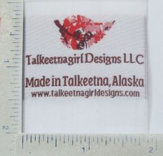 I just approved my custom woven labels. Love them! http://www.siennapacific.com @siennapacific #wovenlabels