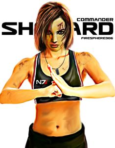 commander shepard-Digital Painting by Firesphere306.deviantart.com on @deviantART