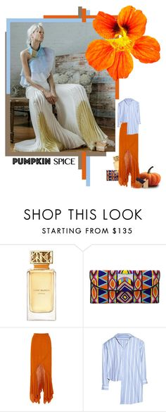 """pumpkin style"" by izoche ❤ liked on Polyvore featuring Tory Burch, ASPIGA, Kitx and Gianvito Rossi"