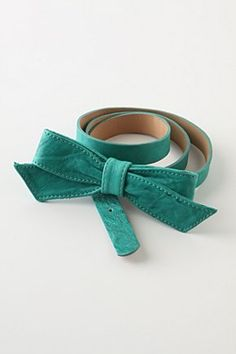 Cute turquoise belt from Anthropologie
