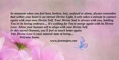 Spiritual Quotes, inspirational quotes - Healing Messages for Your Path of Life Holistic Health Coach, Inspirational Movies, Divine Light, Hurt Feelings, Always Remember, Inner Peace, Spiritual Quotes, Understanding Yourself, Helping People