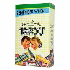 "Remember when the toughest decision you had to make was whether to ""walk the dog"" with your yo-yo or spend some quality time with your hula-hoop? Times have changed, but you can still enjoy the same sweet tastes from the 1950s. The Remember When Candy Box includes Chuckles®, B.B. Bats®, Sugar Daddy® sticks, candy necklaces and much more."